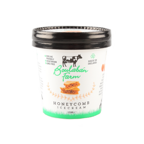 Boulaban Farm Honeycomb Ice Cream 125 ml tub x 20