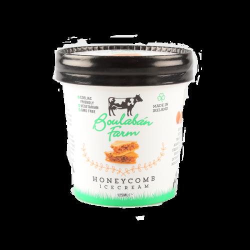 Boulaban Farm Honeycomb Ice Cream 125 ml tub x 20