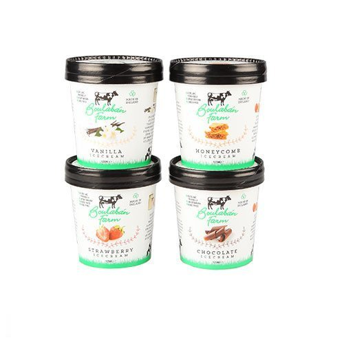 Boulaban Farm Ice Cream Mixed Box 125 ml Tubs x 20